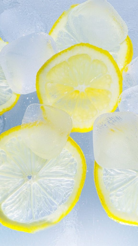 لیمو یخی برای جوش صورت