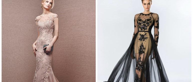 استفاده از گیپور به عنوان بالاتنه لباس مجلسی