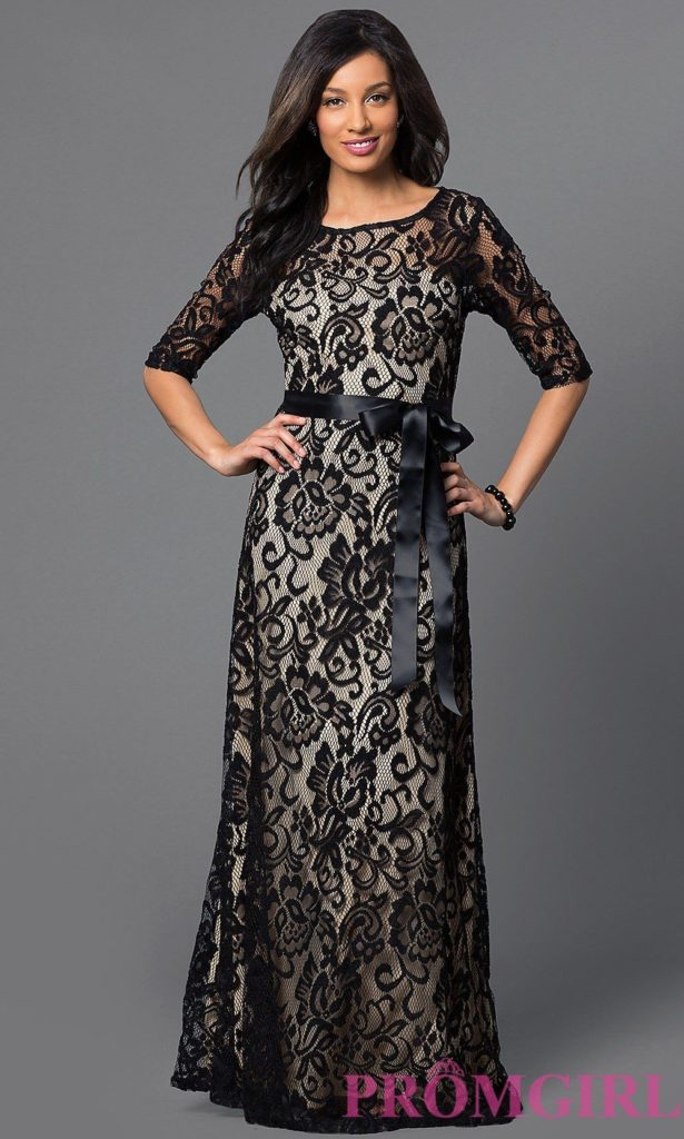 استفاده از گیپور به عنوان پارچه اصلی لباس مجلسی