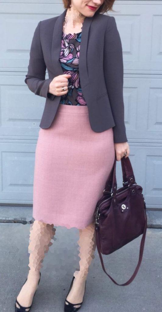 ترکیب رنگ در کت و دامن مجلسی