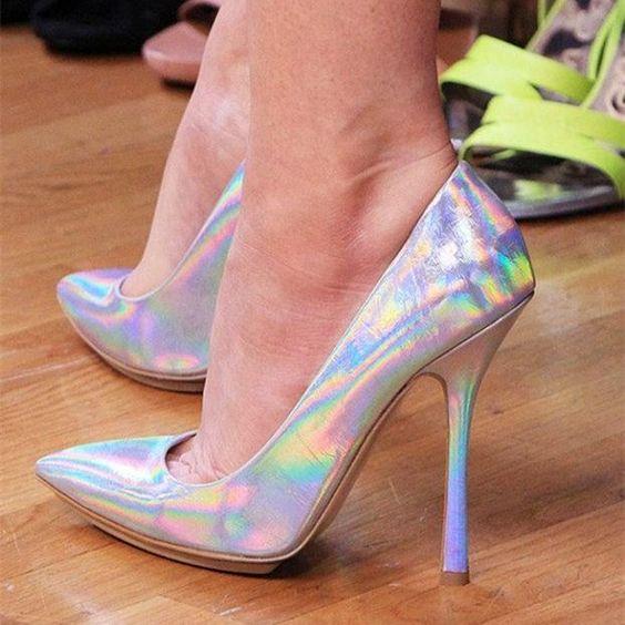 کفش های مجلسی آینهای یا Hologram