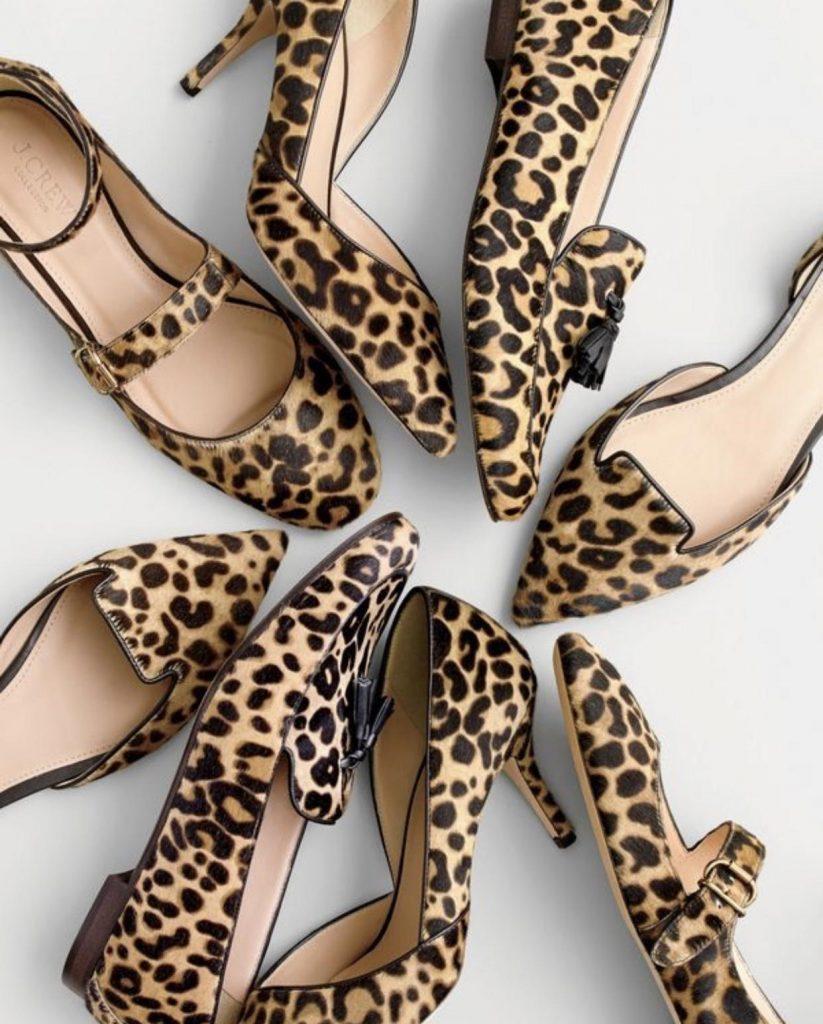 کفش های مجلسی animal prints