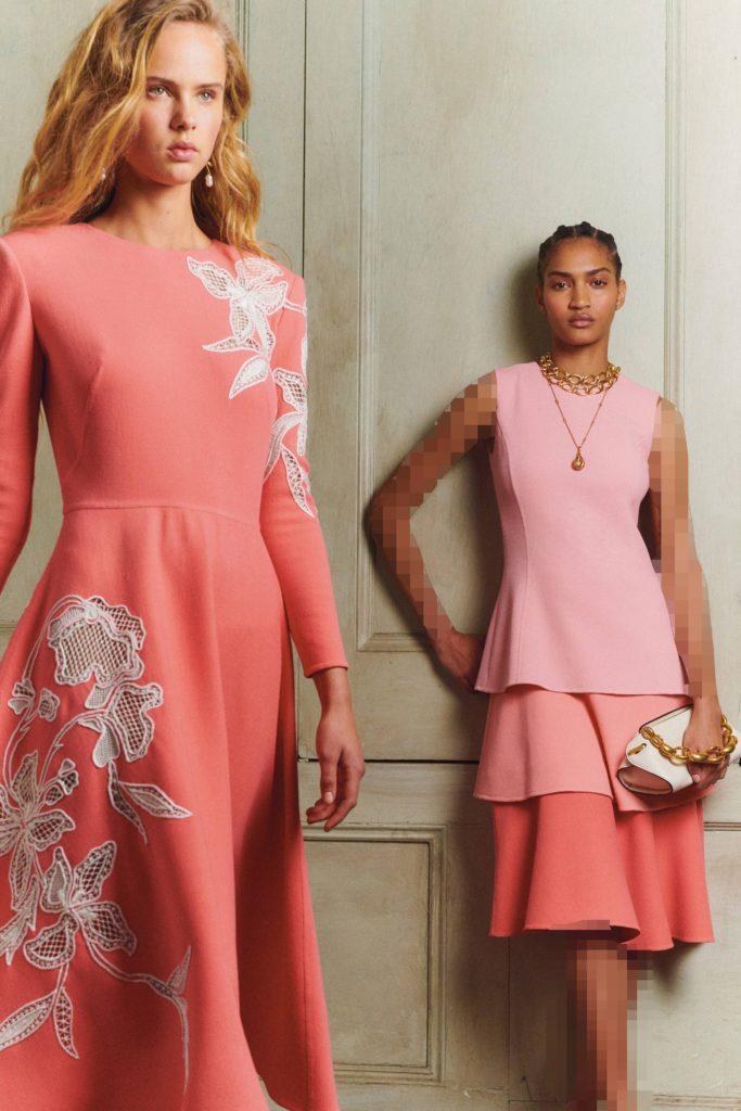 مدل لباس مجلسی زنانه با پارچهی کرپ