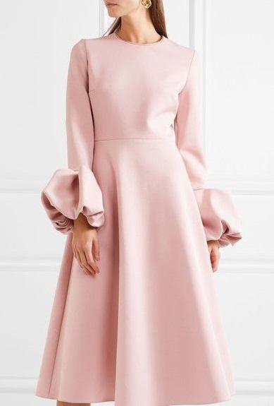 لباس مجلسی زنانه کرپ موهر
