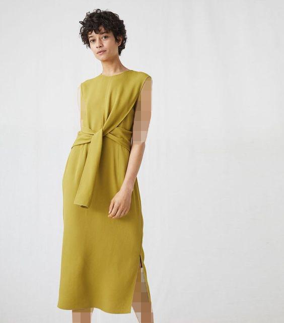 مدل جدید لباس مجلسی کرپ گره ای