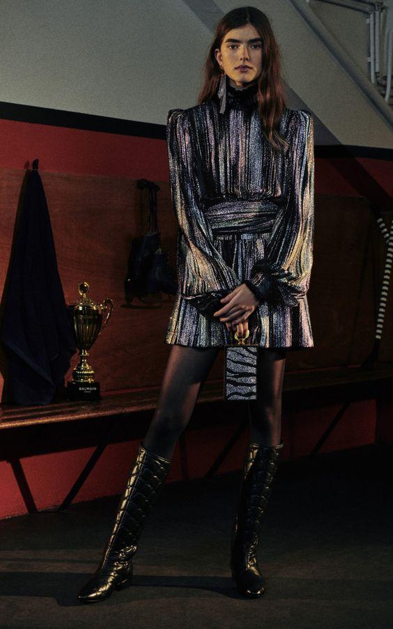 مدل لباس مجلسی زنانه لمه