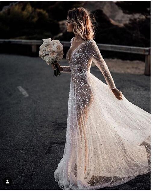 مدل جدید لباس عروس شاین ترند 2020