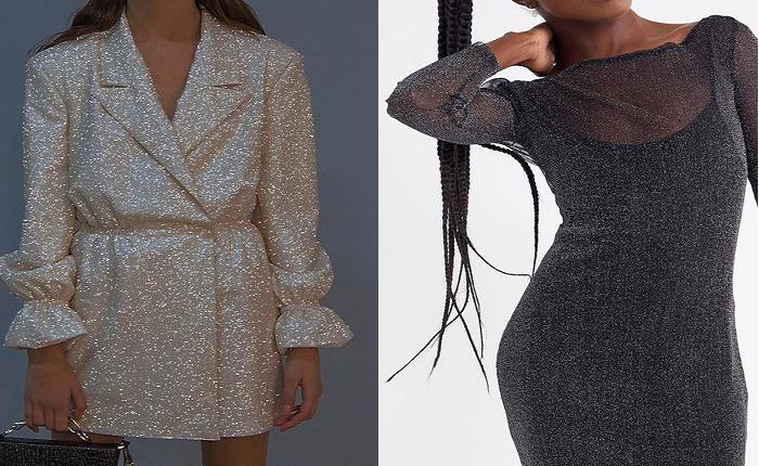 مدل لباس مجلسی زنانه لمه 2019 (مدلهای پوشیده، ماهی، یقه قایقی، مدل کوتاه، سرهمی)