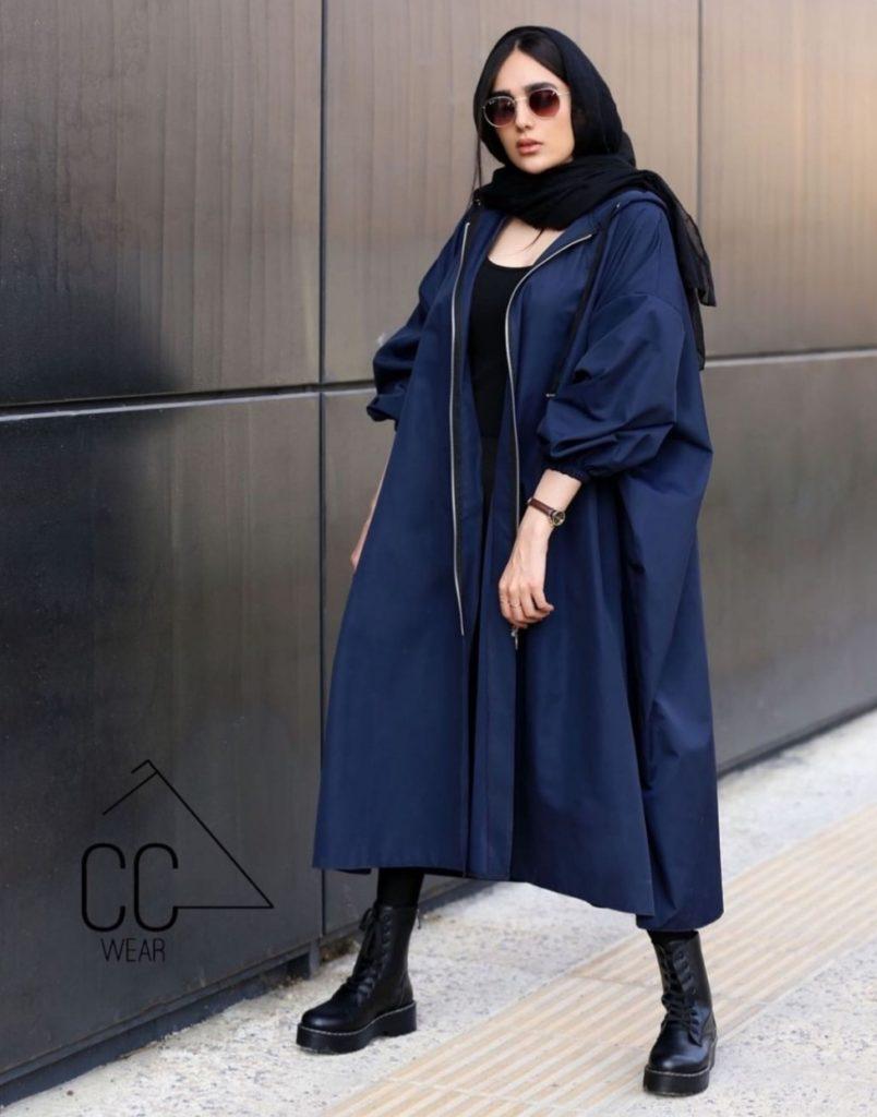 مدل جدید مانتو دانشجویی زیپ دار