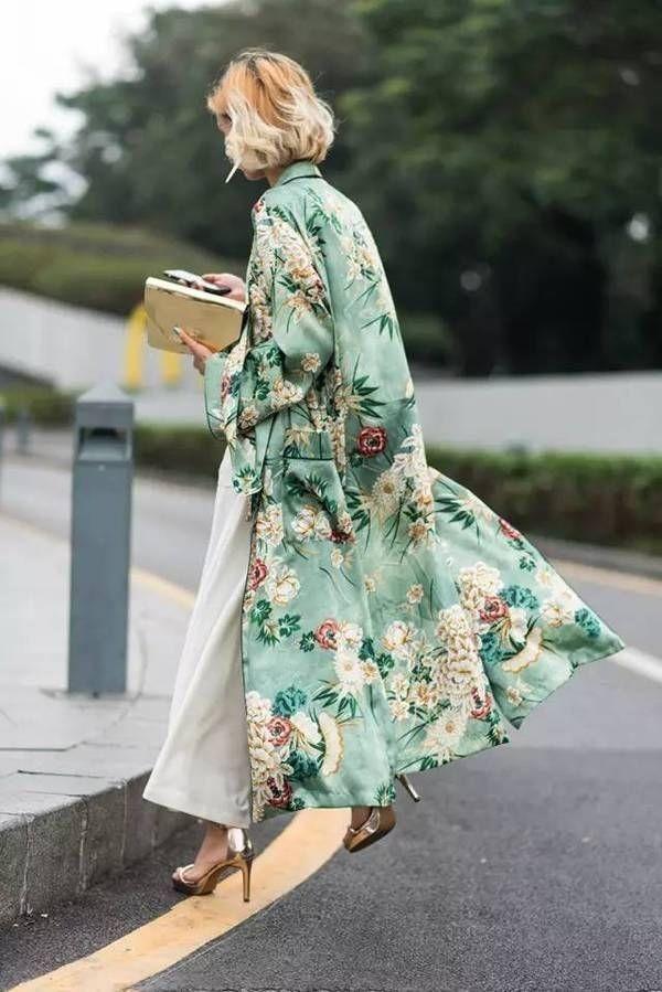 مدل مانتو گل گلی جلوباز