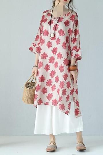 مدل مانتو گل گلی کیمونو