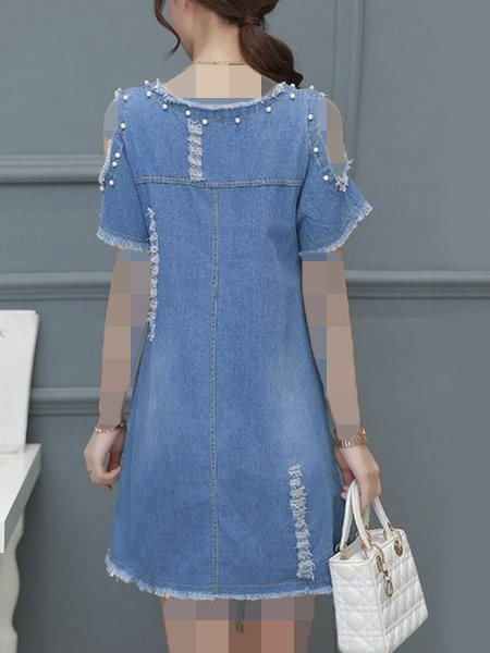لباس مجلسی لی مرواریدی