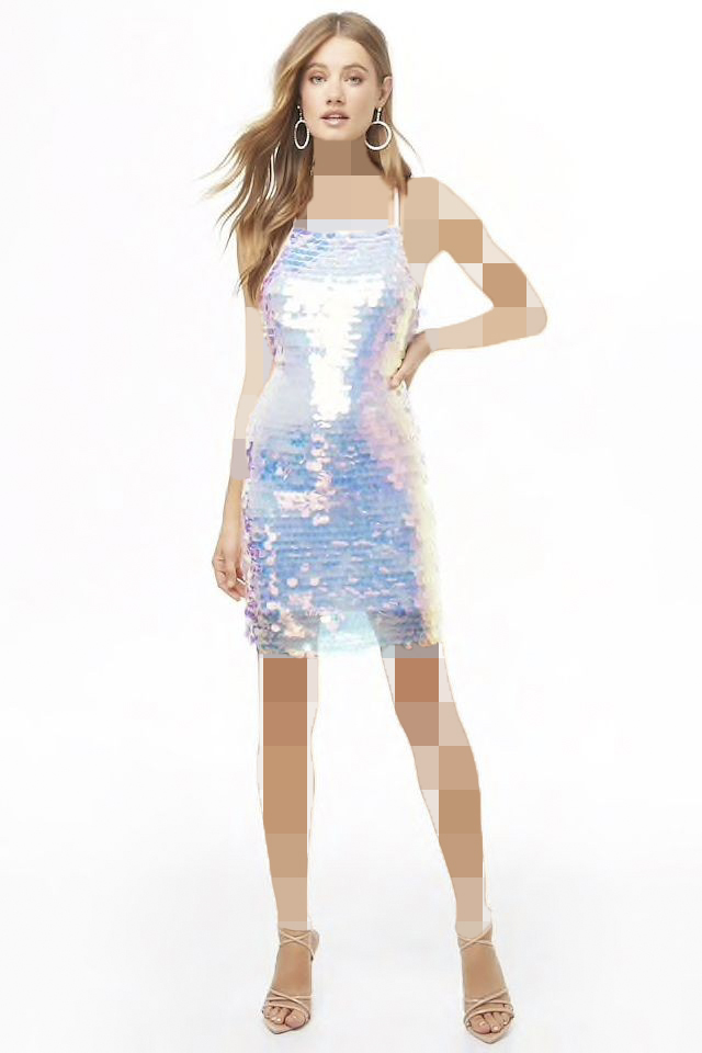 مدل ترند 2020 لباس هولوگرام