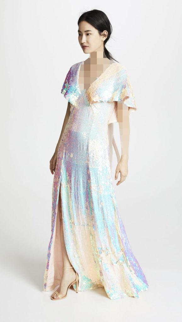 مدل ترند 2020 لباس هولوگرامی