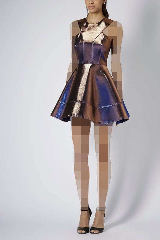لباس مجلسی هولوگرام کلوش