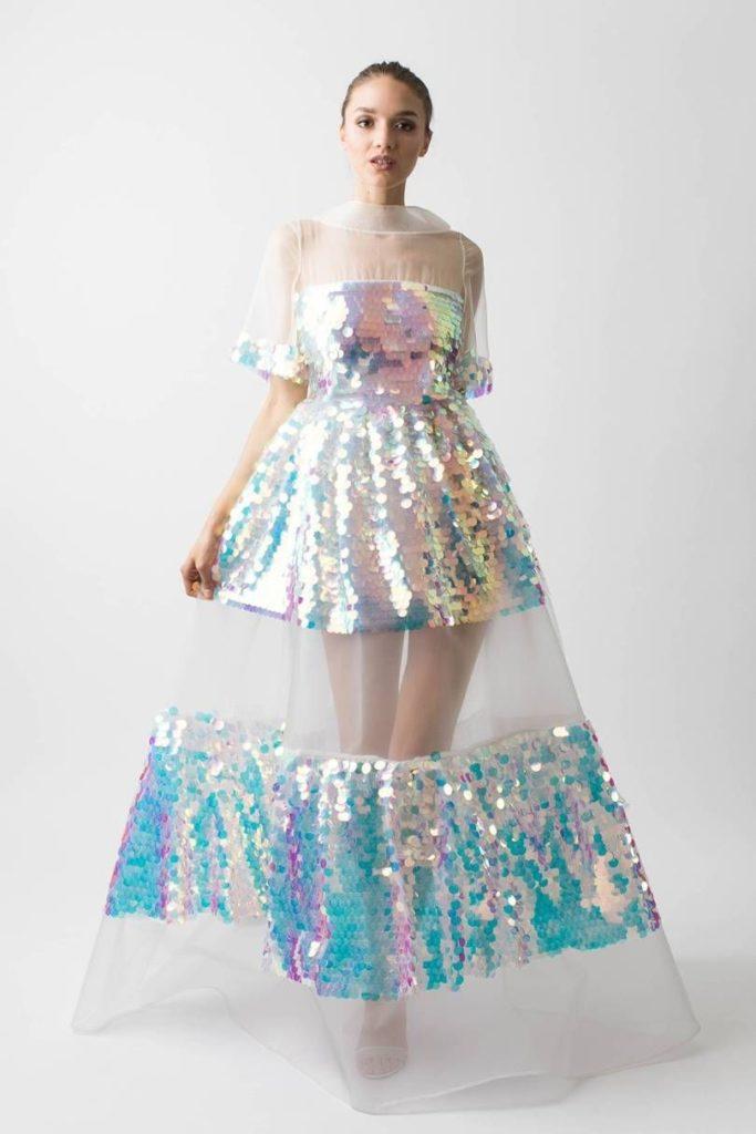 لباس مجلسی هولوگرام جدید