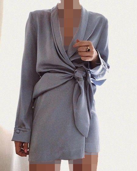 پیراهن کژوال چپ و راستی زنانه