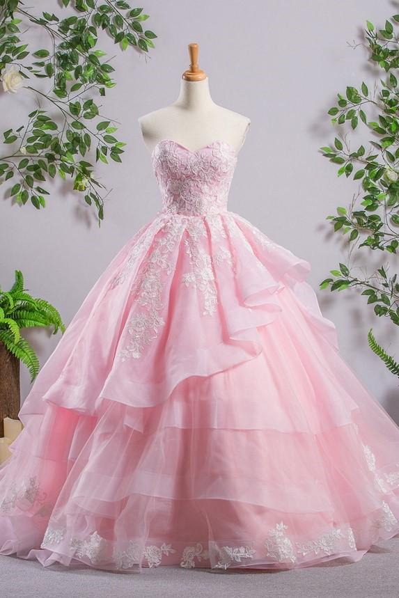 لباس مجلسی پف دار پرنسسی