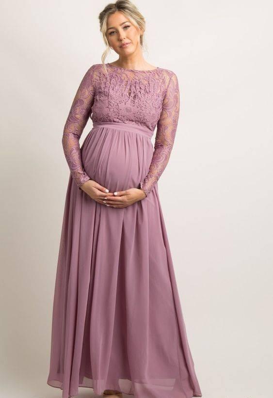 لباس مجلسی حریر بارداری
