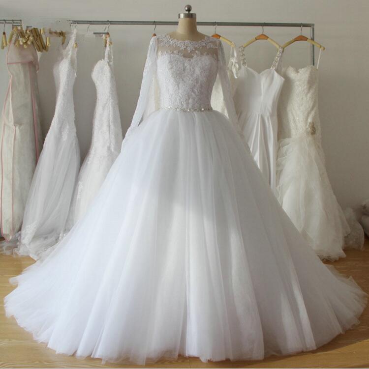 لباس مجلسی پف دار عروس