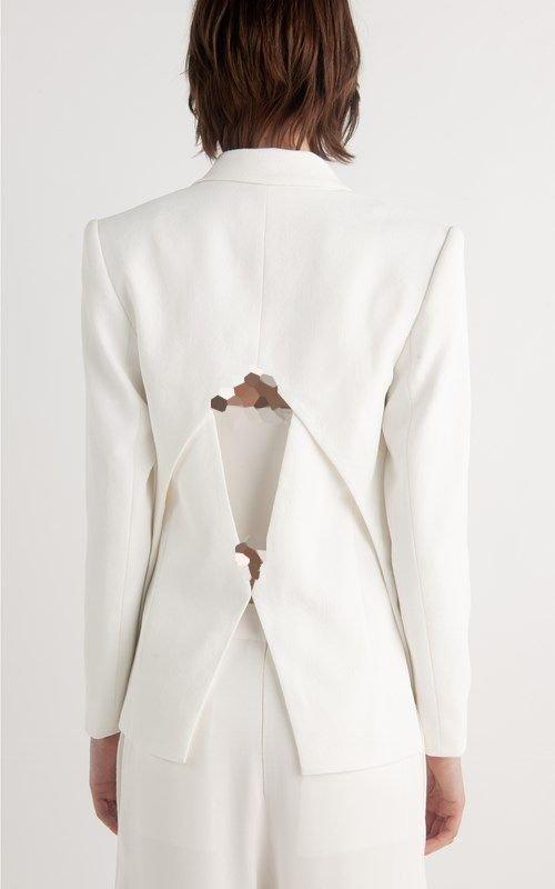 لباس مجلسی چاک دار