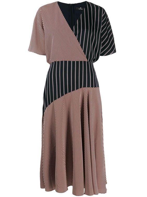 لباس مجلسی ترکیبی چپ و راستی