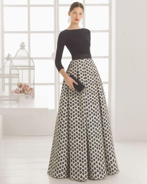 لباس مجلسی ژاکارد برای کشیدهتر به نظر رسیدن