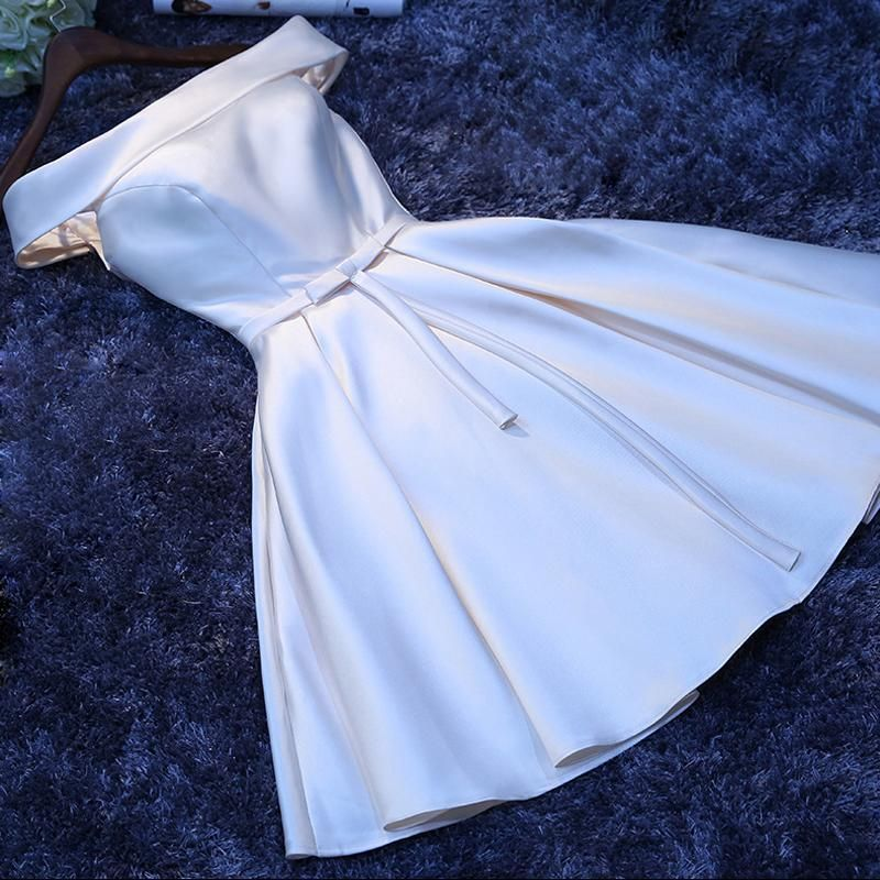 لباس مجلسی یقه قایقی