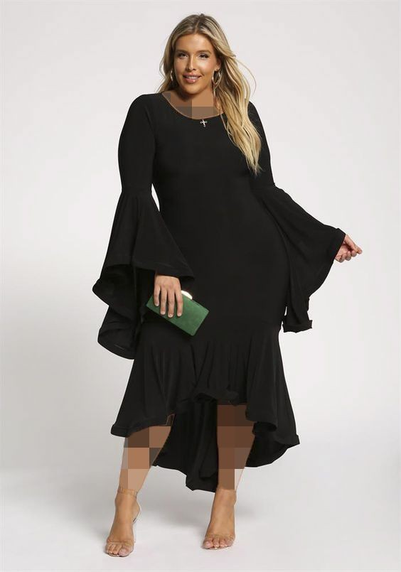 لباس مجلسی پایین خمره ای برای خانم های خیلی چاق