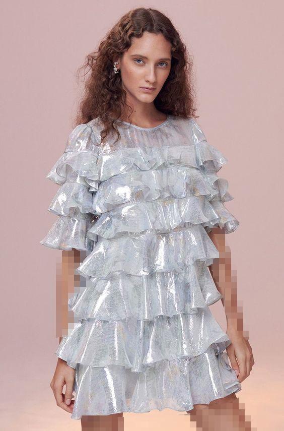 انواع مدل های لباس مجلسی کوتاه 2019