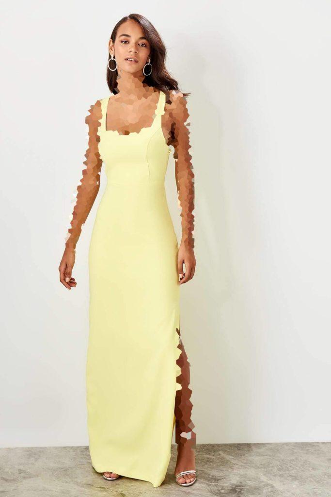لباس مجلسی یقه خشتی