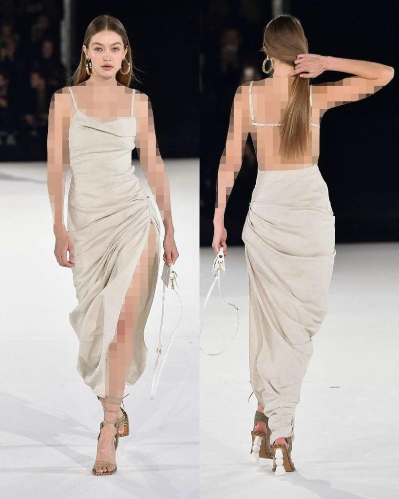 مدل جدید لباس مجلسی چاک دار 2020