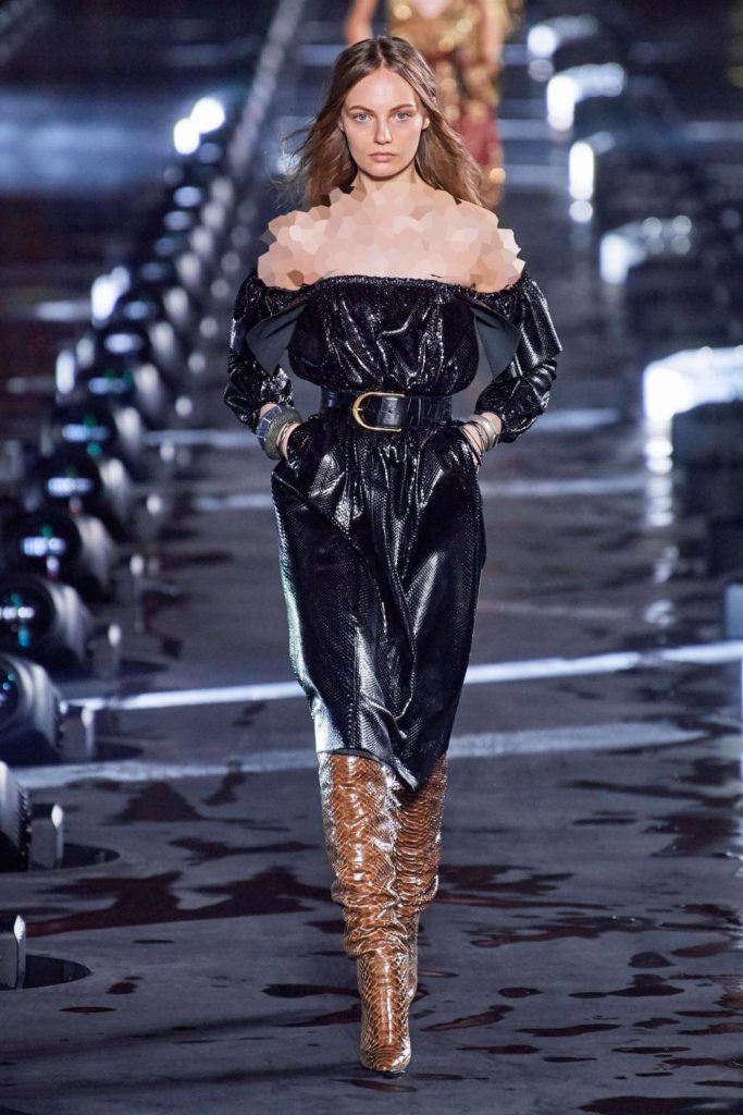 لباس مجلسی چرم کوتاه ترند 2020