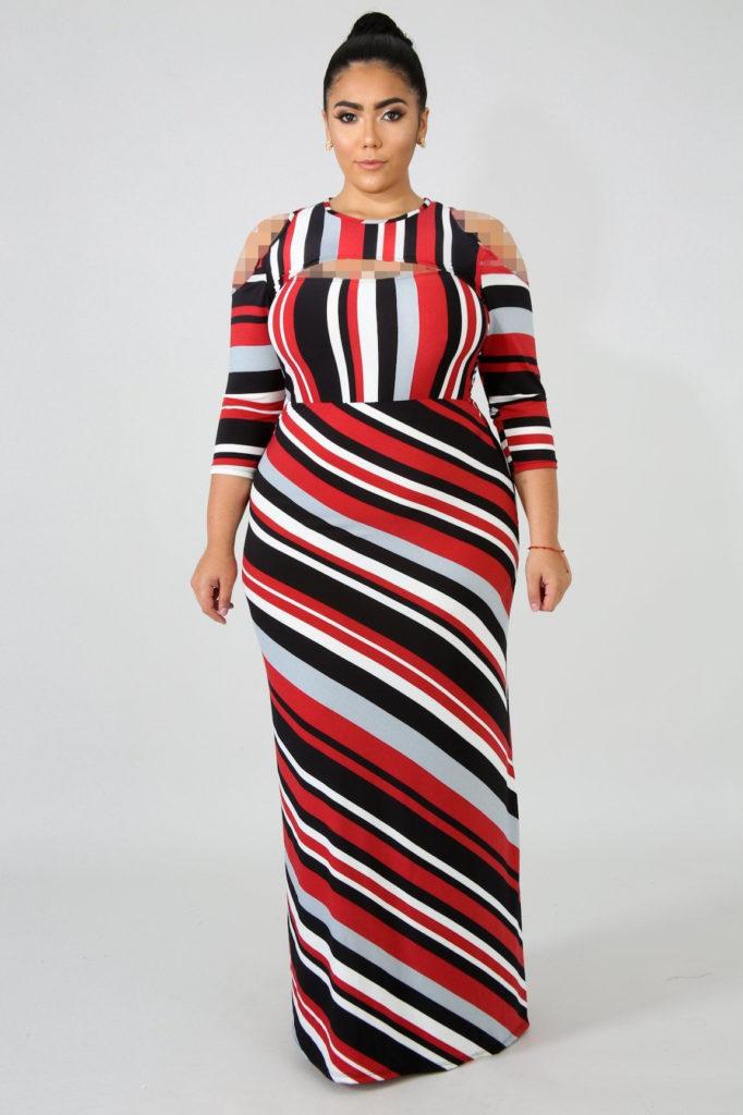 لباس مجلسی پلاس سایز