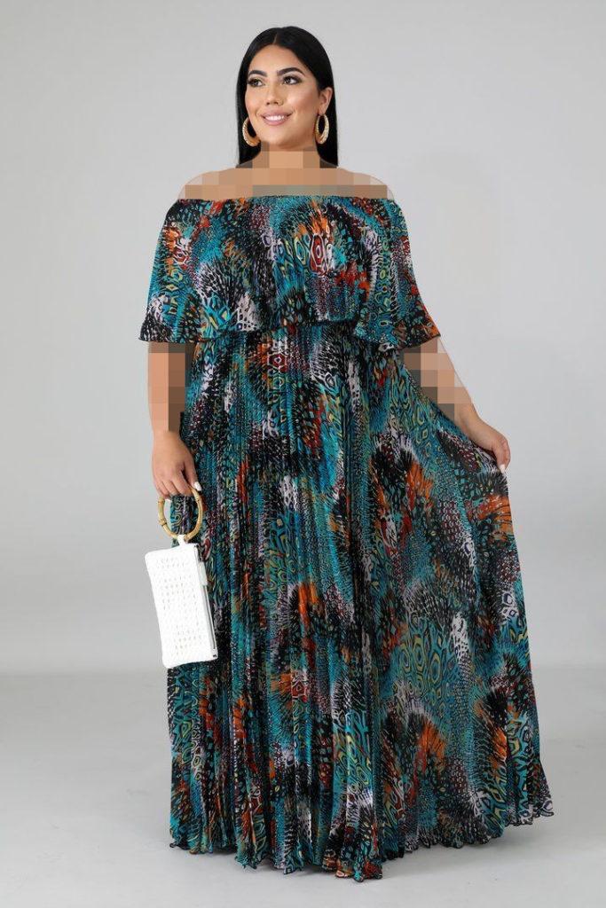 مدل جدید لباس مجلسی برای افراد چاق
