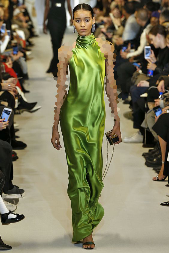 مدل یقه هالتری لباس مجلسی