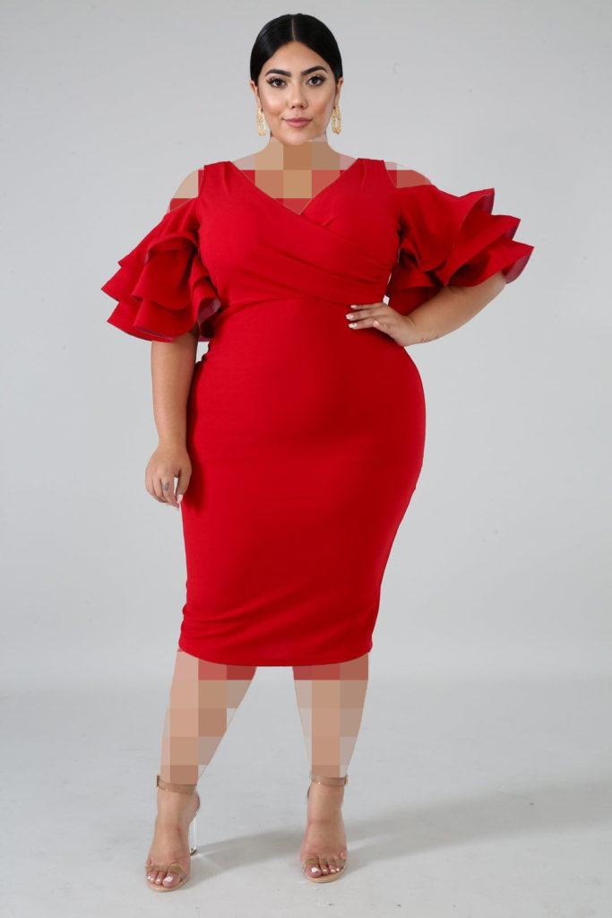 مدل جدید لباس مجلسی پلاس سایز