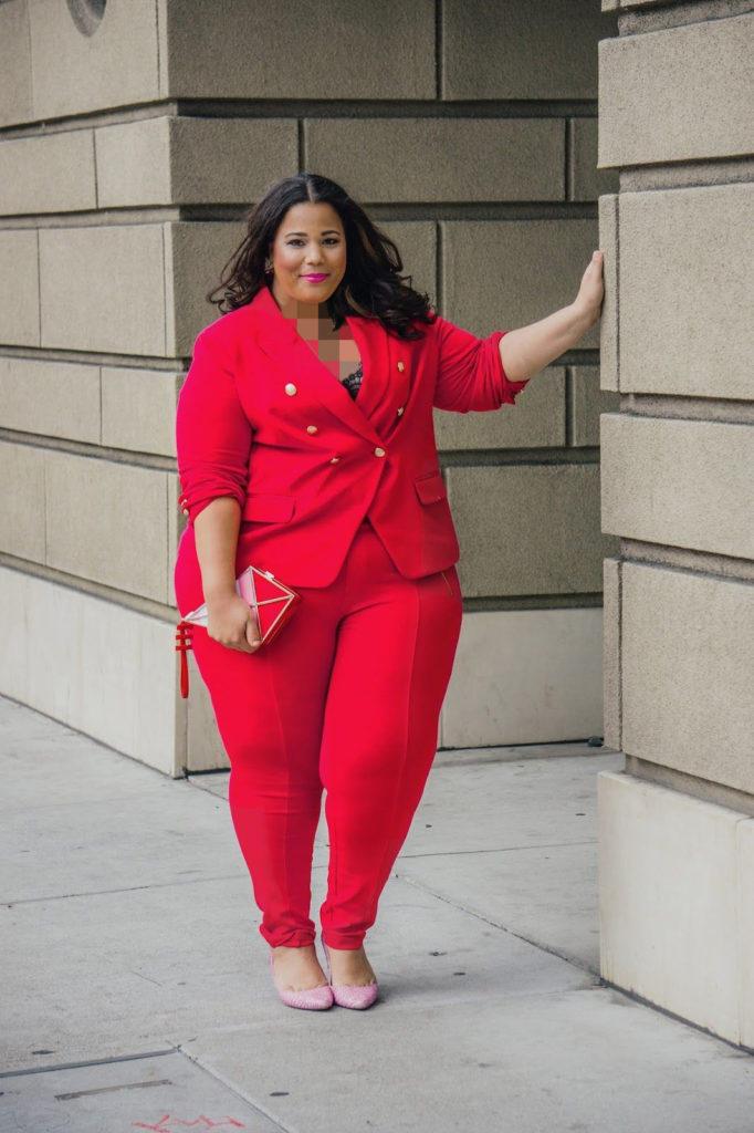 مدل جدید کت و شلوار مجلسی برای افراد چاق