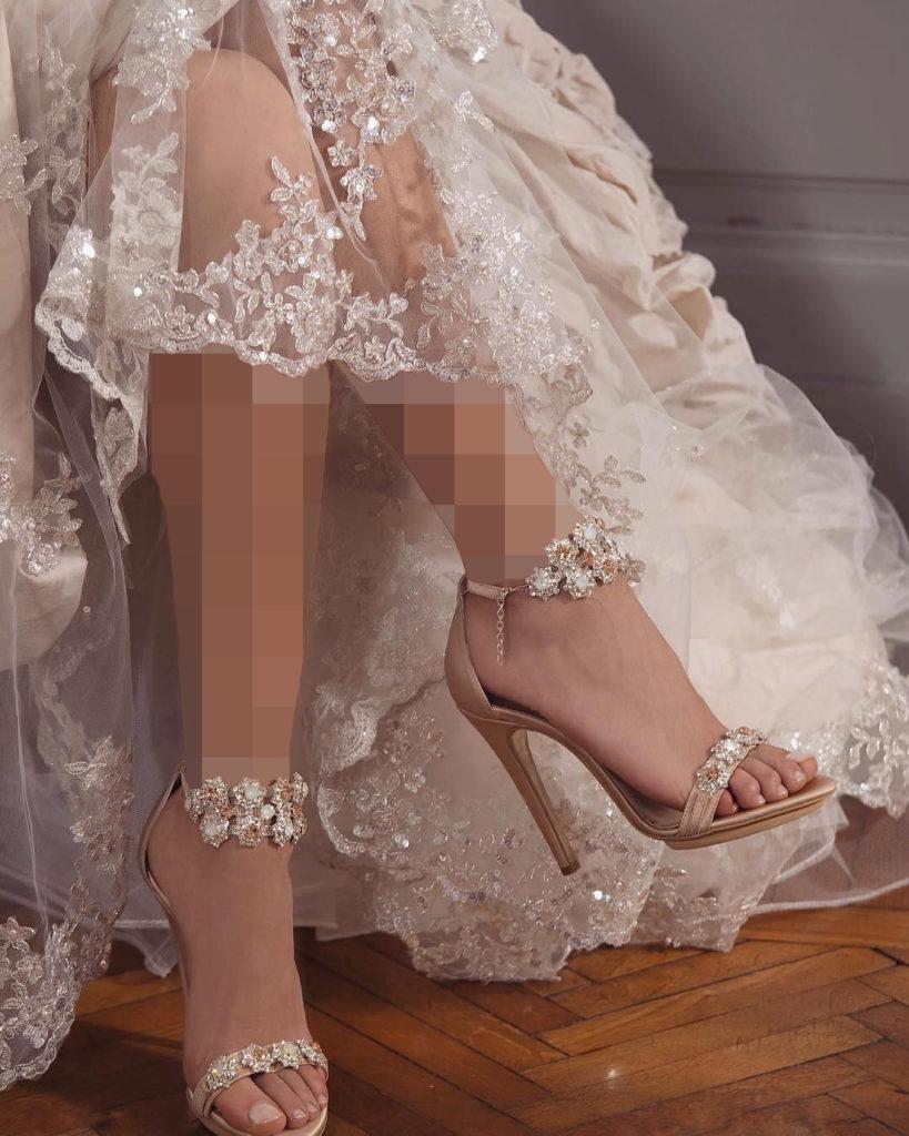 سندل نگین دار عروس