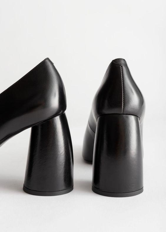 کفش مجلسی پاشنهی Flared