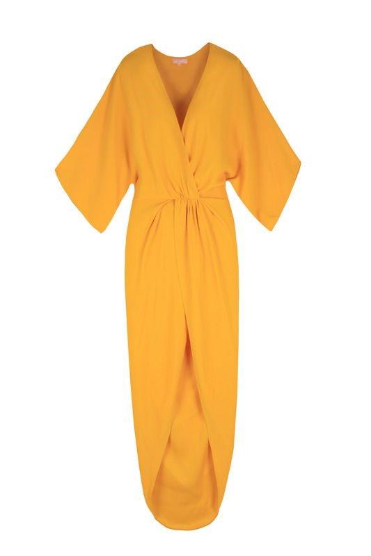 لباس مجلسی ریون مدل آستین کیمونو