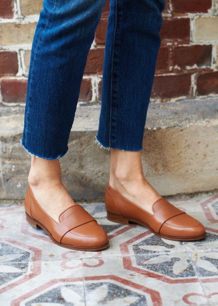 مدل کفش فلت پاییزی زنانه
