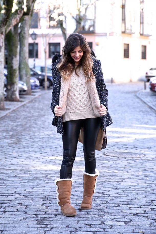 کفش زمستانی ساق دار