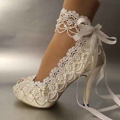 کفش عروس پاشنه میخی بلند