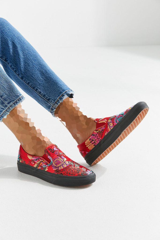 کفش پترن دار ونس زنانه