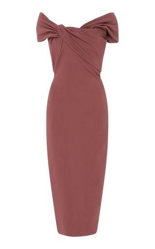 لباس مجلسی ریون مدل آستین کوتاه ساده