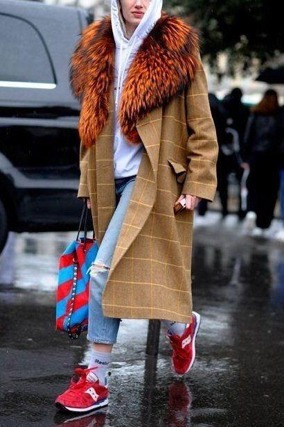 کفش زمستانه زنانه کتانی