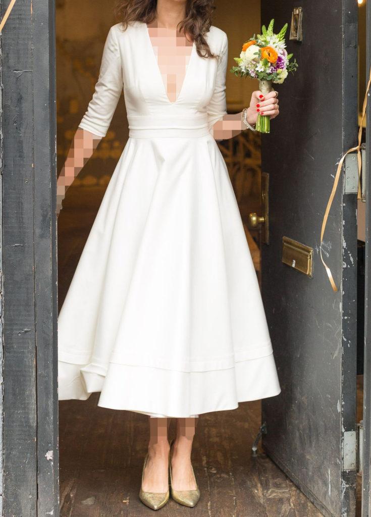 مدل کفش عروس طلایی