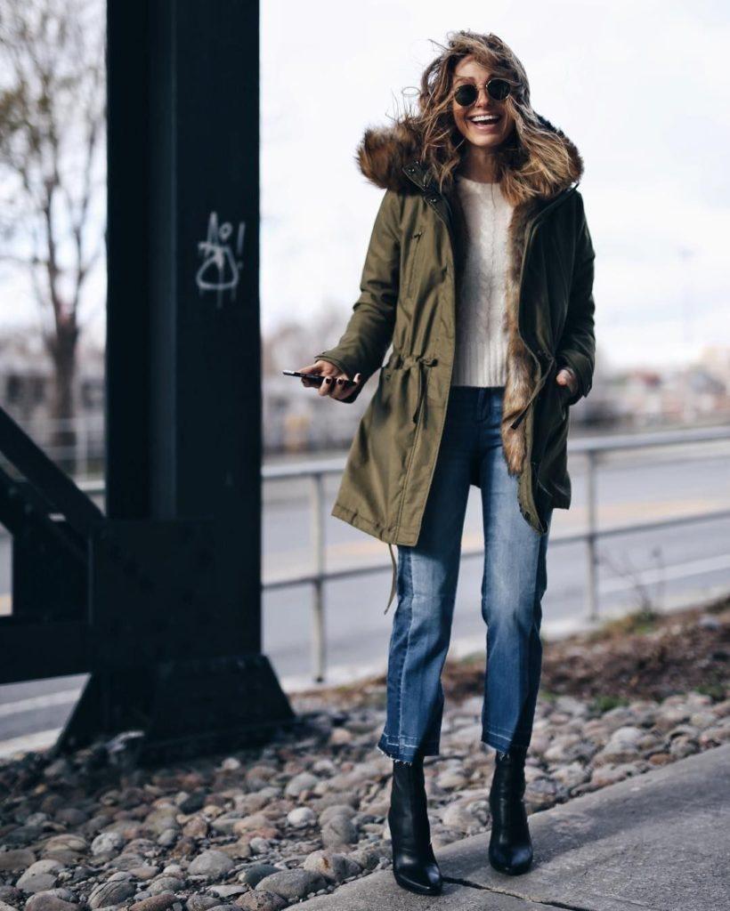 کفش زمستانه پاشنه بلند