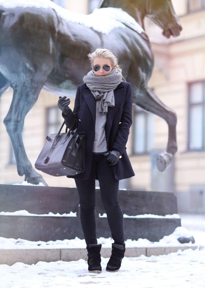 کفش زمستانه زنانه ساده